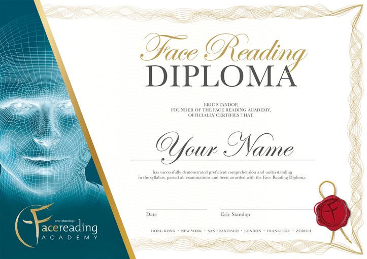 Face Reading Diploma - Eric Standop
